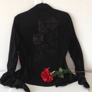 🍃🌹Legatte Jeans - 'Made in Italy' Gothic Top 🍃